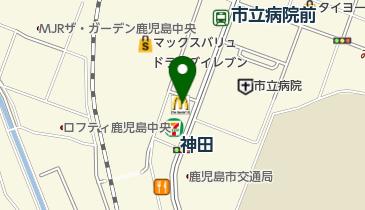 マクドナルド 鹿児島上荒田店の地図画像