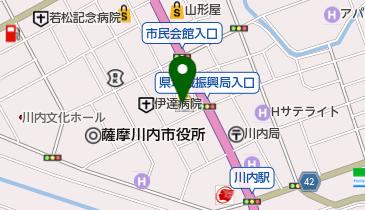 マクドナルド 3号線川内店の地図画像