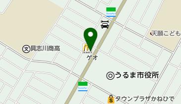 マクドナルド 安慶名店の地図画像