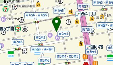 東急ステイ札幌大通の地図画像