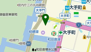 パレスホテル東京の地図画像