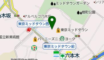 ザ・リッツ・カールトン東京の地図画像