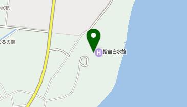 指宿温泉 砂むし温泉 指宿白水館の地図画像