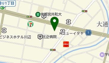 ホテルニューイタヤの地図画像