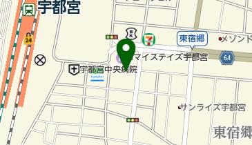 ホテルサンシャイン宇都宮の地図画像