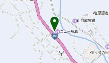 大江戸温泉物語 那須塩原温泉 ホテルニュー塩原の地図画像