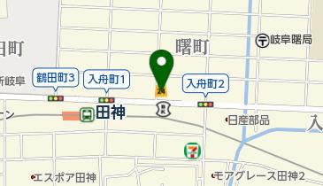 ローソンストア100 LS岐阜入舟店の地図画像