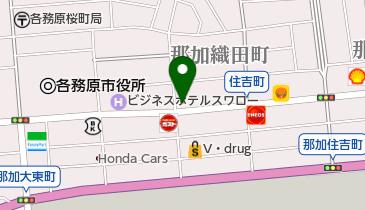 ローソンストア100 LS各務原那加織田町店の地図画像