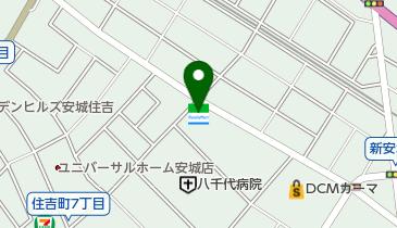 ファミリーマート 新安城店の地図画像