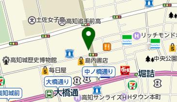 ファミリーマート ほにや帯屋町店の地図画像