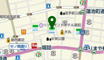 ファミリーマート 高知中央公園前店の地図画像