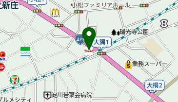 なか卯 上新庄店の地図画像