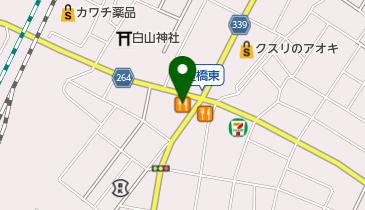 ココス 小山駅東店の地図画像