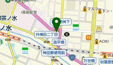 ココス 秋葉原店の地図画像