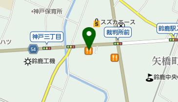 ココス 鈴鹿中央店の地図画像