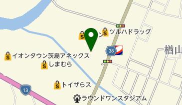ココス イオン秋田中央店の地図画像