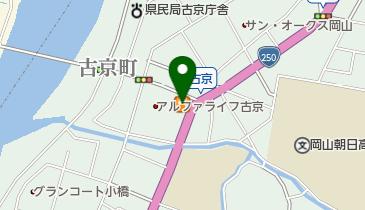 ココス 古京店の地図画像