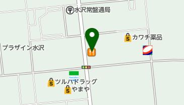 ココス 奥州水沢店の地図画像