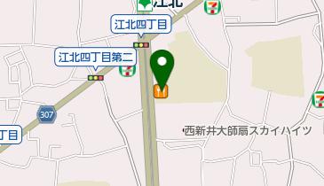 ココス 扇店の地図画像