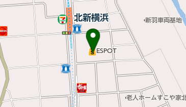 toto取扱 北新横浜エスポットチャンスセンターの地図画像