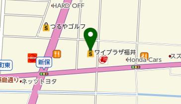 フクイレジャーランドワイプラザ店の地図画像