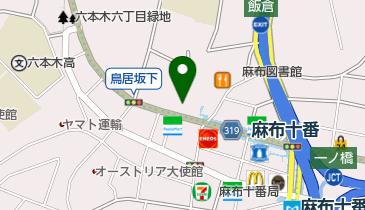 JACK 麻布十番店の地図画像
