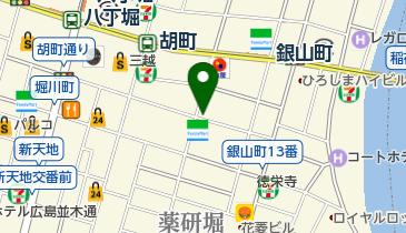 HONEY'S CAFEの地図画像