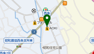 コート・ダジュール 甲府昭和店の地図画像