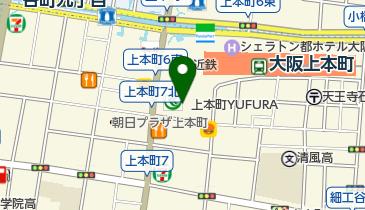 無印良品 上本町YUFURA店の地図画像