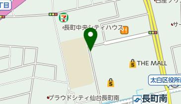 ザ・モール仙台長町 トイレの地図画像