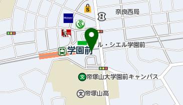 ソフトバンク学園前の地図画像