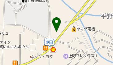 オフハウス 三重上野店の地図画像