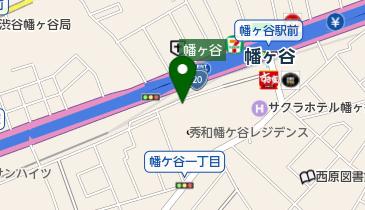 エコステーション21 幡ヶ谷南第一自転車・原付専用駐車場の地図画像