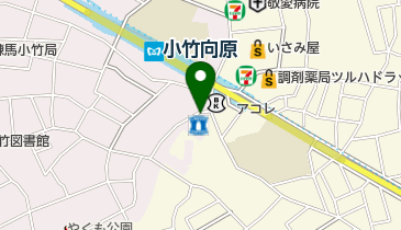エコステーション21 Grande Kotake駐輪場の地図画像