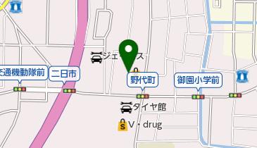 ワイモバイル100満ボルト金沢本店の地図画像
