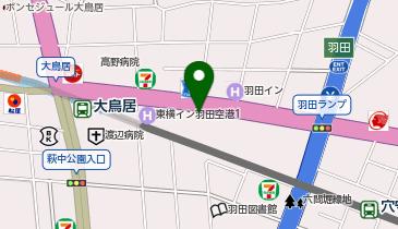 トヨタレンタカ- 羽田空港店の地図画像