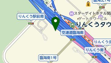 トヨタレンタカ- りんくうタウン駅前店の地図画像