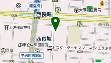 トヨタレンタカ- 西長堀駅前店の地図画像