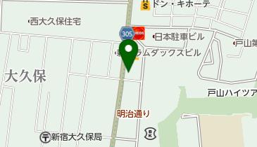 ニコニコレンタカー 西早稲田駅店の地図画像