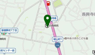 [EV]トヨタカローラ新大阪(株) 豊中店の地図画像