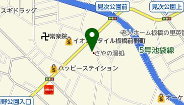 さやの湯処の地図画像