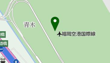 福岡空港 国際線ターミナルビル 3階搭乗待合室の地図画像