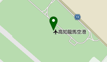 高知空港 (高知龍馬空港)の地図画像