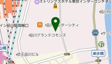 品川インターシティ郵便局の地図画像