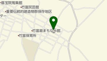 竹富郵便局の地図画像