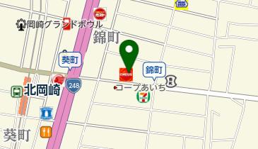 岡崎エコ・ステーションの地図画像