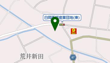 埼玉白岡天然ガススタンドの地図画像