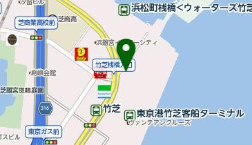 竹芝客船ターミナル (bikeshareポート)の地図画像
