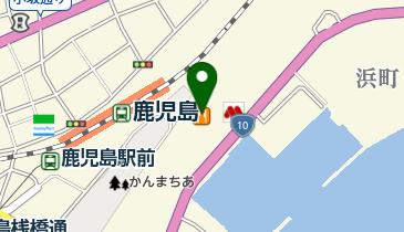 モスバーガー鹿児島ベイサイド店の地図画像