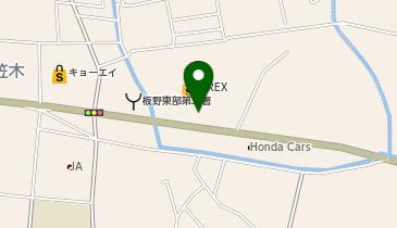 モスバーガー藍住店の地図画像